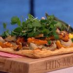 Phil Vickery autumnal squash tart recipe on This Morning