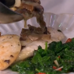 Gino's tribute to Antonio Carluccio dish of chicken with wild mushrooms recipe on This Morning