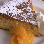 Rick Stein Californian clementine with lemon syrup and almond cake recipe on Rick Stein's Road To Mexico
