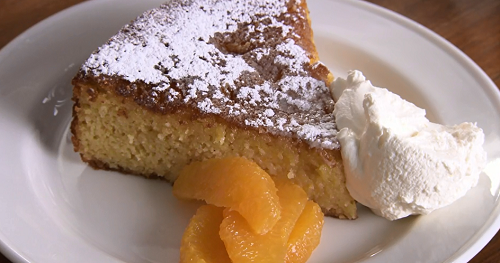 Clementine Almond Syrup Cake Recipe