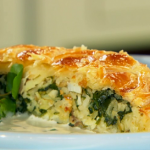 Anna Haugh smoked haddock coulibiac pie recipe on Royal Recipes