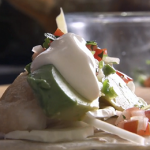 Rick Stein fish tacos with Cornish cod and avocado recipe on Rick Stein's Road To Mexico