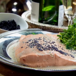 Anna Haugh salmon in champagne sauce recipe on Royal Recipes
