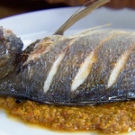 Anna Haugh Bombay duck curry with sea bream recipe on Royal Recipes