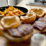 Matt's skirt steak feast with Yorkshire pudding recipe on Save Money: Good Food