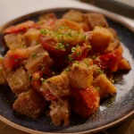 Nigella Lawson tomato and fried bread hash recipe