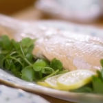 Lady Mansfield whole baked wild salmon with hollandaise sauce recipe