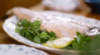 Lady Mansfield served up whole baked wild salmon with hollandaise sauce on Mary Berry's Country House Secrets. See mary's recipes in her new book titled: Mary Berry's Complete Cookbook: Over...