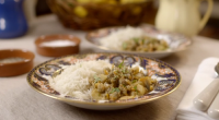 Charlie served up a tasty Powderham curried cockles with rice for Mary berry on on Mary Berry's Country House Secrets. The ingredients are: 1 large onion, 1 tsp garam masala,...