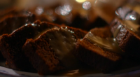 Adil Ray and Mary Berry served up a delicious sticky ginger cake with a toffee sauce for the festive season on Mary Berry's Christmas Party. The igredients are: 100g plain...