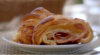 Paul Hollywood served up tasty ham and cheese croissants on Paul Hollywood: A Baker's Life. See the recipe in Paul's new book titled: A Baker's Life: 100 fantastic recipes, from...