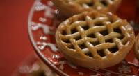 Prue Leith challenged the returning contestants with her mince pie with brandy butter recipe on The Great British Bake Off Christmas special. The bakers had to make 12 minced pies...