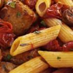 Sarah Millican Tuscan sausage and tomato pasta recipe