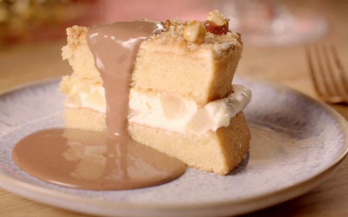 The Hairy Bikers Pear And Hazelnut Cake Recipe The