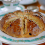 Paul Hollywood sultana and pecan scone rings recipe