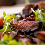 Jamie Oliver Italian balsamic potatoes with rocket salad recipe