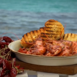 Gino's Calabrian-style king prawns in a spicy tomato sauce recipe