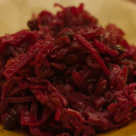 Nigella Lawson braised red cabbage in cranberry sauce recipe
