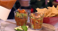 Rick Stein spices up your Christmas with this Mexican style prawn cocktail prawn cocktail on This Morning. See all of Rick's Mexican inspired recipes in his book titled: Rick Stein:...