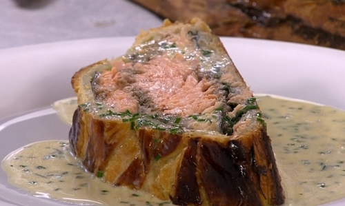 Pound Cake Recipe Uk Mary Berry: James Martin Salmon En Croute With Champagne Sauce Recipe