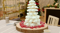 Mary Berry served up a delicious snowflake cake for the festive season on Mary, Mel and Sue's Big Christmas Thank You. see mary's Christmas recipes in her book titled: Mary...
