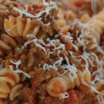 Michela Chiappa and Jamie Oliver's spaghetti bolognese recipe for babies