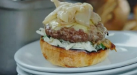 Jamie Oliver served up tasty rose veal burgers as part of his food fight with Jimmy Doherty to get people eating more British produce on Jamie and Jimmy's Friday Night...