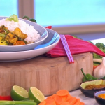 Ching's Chinese chicken curry with vegetables recipe on This Morning