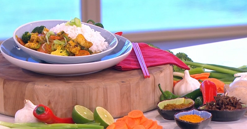 Chings Chinese Chicken Curry With Vegetables Recipe On This