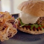 Tom Kerridge turkey and courgette burgers recipe on Lose Weight For Good