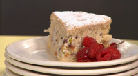 Simon Rimmer served up a delicious cassata cake with a Swiss roll and berries on today's episode of Sunday Brunch. The ingredients are: 6 eggs, 225g sugar, 225g flour, zest...