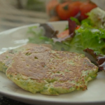 Tom Kerridge quick and easy courgette fritters recipe on Lose Weight For Good
