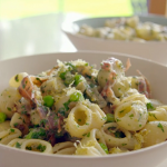 Tom Kerridge pea and ham pasta recipe on  Lose Weight For Good