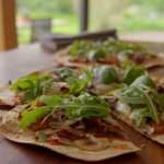 Tom Kerridge Easy pizza with crispy tortillas recipe on Lose Weight For Good