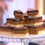 Phil's deliciously naughty millionaire's shortbread recipe on This Morning