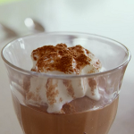 Tom Kerridge coffee and chocolate custard pots with cardamom and cream recipe on Lose Weight For Good