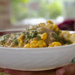 Joe Wicks lean lamb madras curry with lentils and spinach recipe