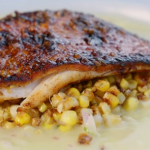 James Martin Cajun red snapper with bur blanc sauce recipe