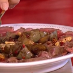 Gino's Sardinian seared beef with artichokes and walnuts recipe for a longer healthier life on This Morning