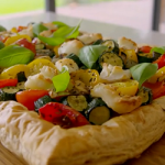 Tom Kerridge Mediterranean puff pastry tart recipe