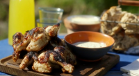 Mary Berry served up a tasty BBQ spatchcock poussin with herbs and aioli on Classic Mary berry. See Mary's recipes in her new book titled: Classic: Delicious, no-fuss recipes from...