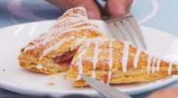 Paul Hollywood showcased his fruit turnovers with apricot and raspberries on The Great Celebrity Bake Off Stand Up to cancer. Paul provided the recipe to the celebrities for this week's...