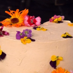 Juliet Sear lemon and elderflower cake recipe on This Morning