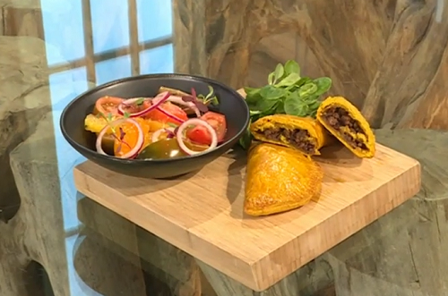 Shivi Ramoutar Jamaican Beef Patties With Ginger Tomato And