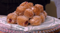 Juliet Sear served up delicious sconuts (cross between a doughnut and a scone) with clotted cream and jam for a Mother's Day treat on This Morning. The ingredients are: vegetable...