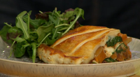 Simon Rimmer served up a tasty vegetarian butternut squash and spinach pie on Sunday Brunch. See more recipes from Simon in his book titled: The Accidental Vegetarian: Delicious food without...