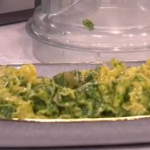 James Martin simple, tasty wild garlic pasta with basil pesto recipe