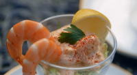 Mary Berry served up a tasty prawn cocktail with Marie Rose sauce using horseradish as a key ingredient on Classic Mary Berry. See Mary's recipes in her new book titled:...