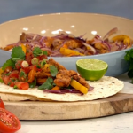 Phil Vickery family fajitas recipe on This Morning