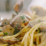Jamie Oliver spicy nduja vongole pasta with clams recipe
